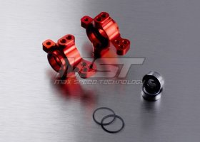 Alum. front upright (red) (2) - MST-210239R