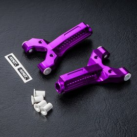 MST HT Alum. front lower arm set (purple) - MST-820060P